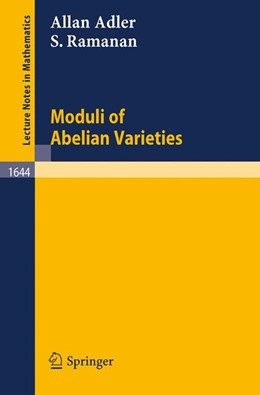 Abbildung von Adler / Ramanan   Moduli of Abelian Varieties   1996   1644