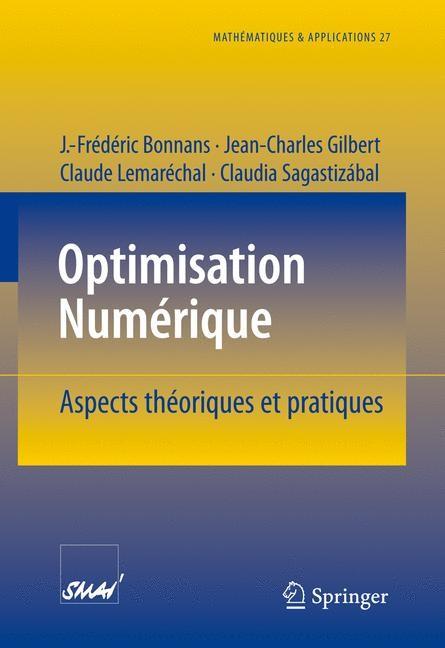 Abbildung von Bonnans / Gilbert / Lemaréchal | Optimisation Numerique | 1997