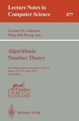 Abbildung von Adleman / Huang | Algorithmic Number Theory | 1994 | First International Symposium,... | 877