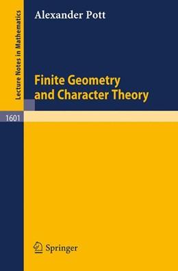 Abbildung von Pott   Finite Geometry and Character Theory   1995   1601