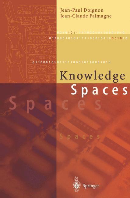 Abbildung von Doignon / Falmagne   Knowledge Spaces   1998