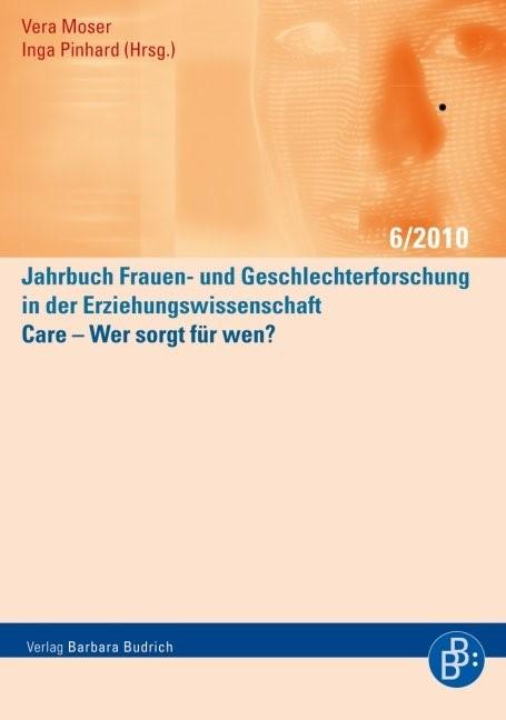 Care – Wer sorgt für wen? | Moser / Pinhard, 2010 | Buch (Cover)