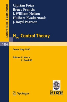 Abbildung von Mosca / Pandolfi | H -Control Theory | 1992 | Lectures given at the 2nd Sess... | 1496