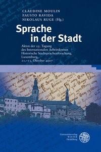 Sprache in der Stadt   Moulin / Ravida / Ruge, 2010   Buch (Cover)