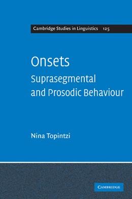 Abbildung von Topintzi | Onsets | 2010 | Suprasegmental and Prosodic Be... | 125