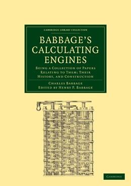 Abbildung von Babbage | Babbage's Calculating Engines | 1. Auflage | 2010 | beck-shop.de
