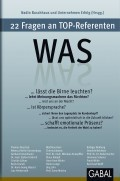 Was, 2013 | Buch (Cover)