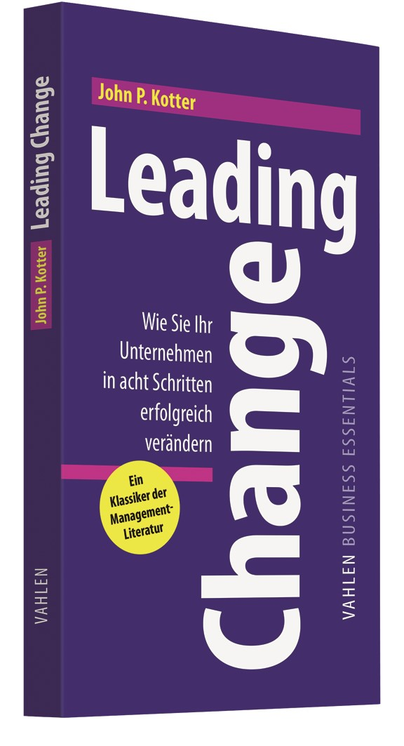 Leading Change | Kotter, 2011 | Buch (Cover)