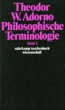 Abbildung von Adorno / Zur Lippe   Philosophische Terminologie   1974   Zur Einleitung. Band 2   50