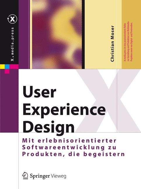 User Experience Design   Moser, 2012   Buch (Cover)
