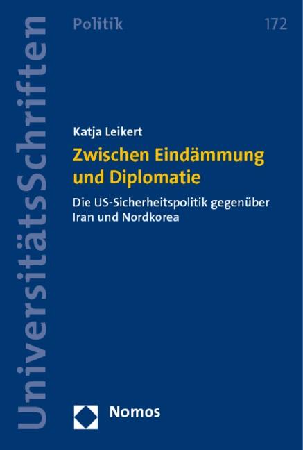 Zwischen Eindämmung und Diplomatie   Leikert, 2010   Buch (Cover)