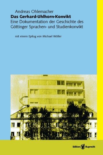 Das Gerhard-Uhlhorn-Konvikt   Ohlemacher, 2011   Buch (Cover)