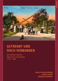 Getrennt und doch verbunden | Adelsgruber / Cohen / Kuzmany, 2011 | Buch (Cover)