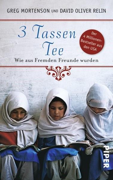 3 Tassen Tee | Mortenson / Relin, 2011 | Buch (Cover)