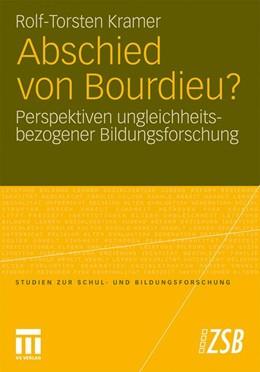 Abbildung von Kramer | Abschied von Bourdieu? | 2011 | Perspektiven ungleichheitsbezo... | 39