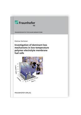 Abbildung von Gerteisen / | Investigation of dominant loss mechanisms in low-temperature polymer electrolyte membrane fuel cells | 2010
