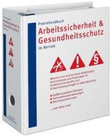 Praxishandbuch Arbeitssicherheit und Gesundheitsschutz im Betrieb | de la Roza | Loseblattwerk mit Aktualisierungen (Cover)