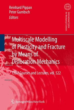 Abbildung von Gumbsch / Pippan | Multiscale Modelling of Plasticity and Fracture by Means of Dislocation Mechanics | 1st Edition. | 2010 | 522