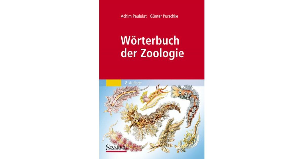 Wörterbuch der Zoologie   Paululat / Purschke, 2011   Buch   beck ...