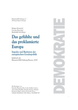 Abbildung von Krannich / Rauscher / Veil | Das gefühlte und das proklamierte Europa | | Impulse und Barrieren der euro... | 24