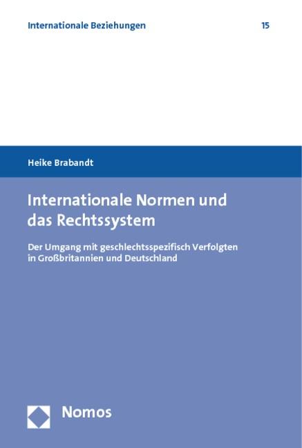 Abbildung von Brabandt | Internationale Normen und das Rechtssystem | 2011