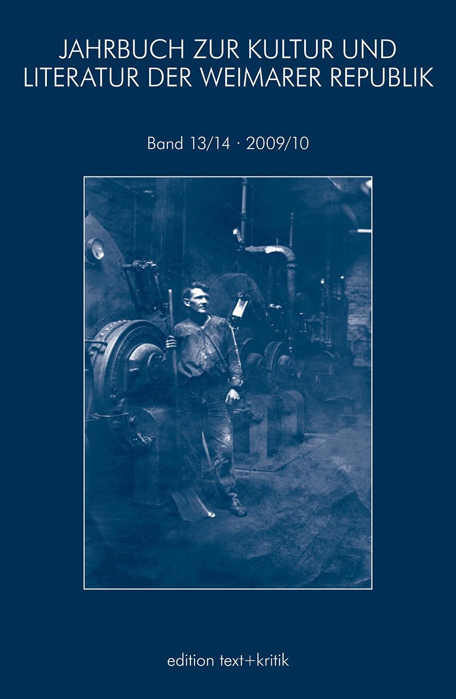 JAHRBUCH ZUR KULTUR UND LITERATUR DER WEIMARER REPUBLIK, 2011 | Buch (Cover)
