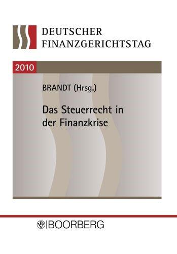 Deutscher Finanzgerichtstag 2010 | Brandt, 2011 | Buch (Cover)