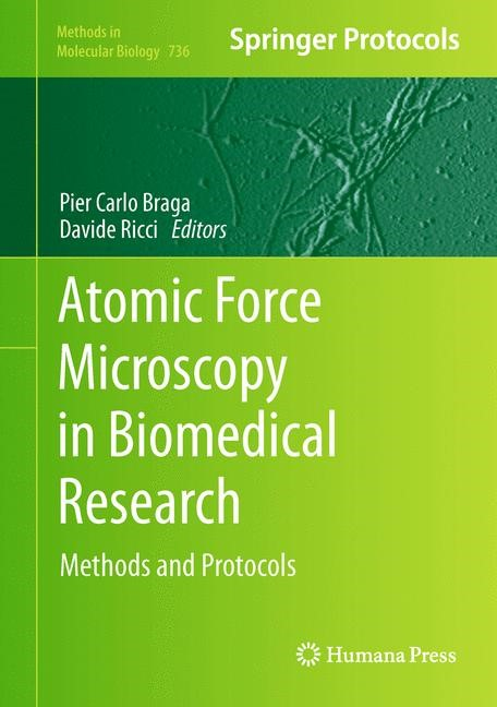 Atomic Force Microscopy in Biomedical Research | Braga / Ricci, 2011 | Buch (Cover)