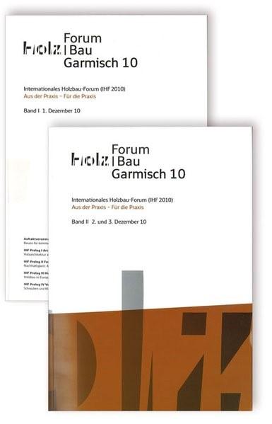 16. Internationales Holzbau-Forum. 2 Bd, 2010 | Buch (Cover)