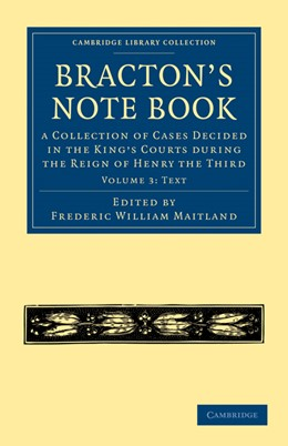Abbildung von Bracton / Maitland | Bracton's Note Book | 2010 | A Collection of Cases Decided ...