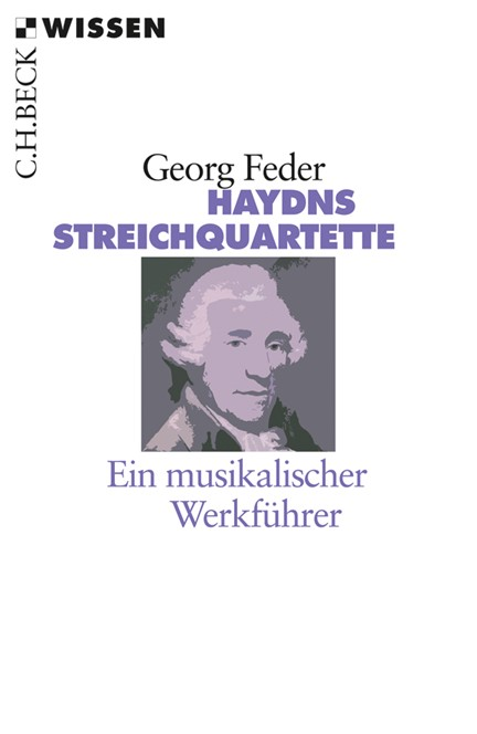Cover: Georg Feder, Haydns Streichquartette