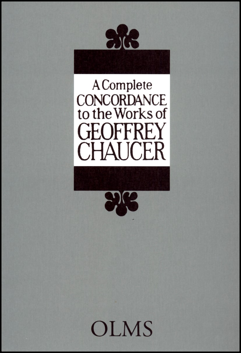 A Complete Concordance to the Works of Geoffrey Chaucer | Oizumi / Chaucer / Miki | 1991 - 2008, 2001 | Buch (Cover)