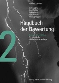 Handbuch der Bewertung - Band 2: Unternehmen | Loderer / Jörg / Pichler | 5., vollständig überarbeitete Auflage, 2010 | Buch (Cover)