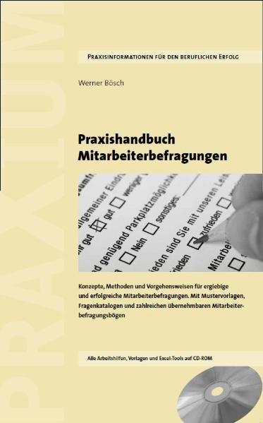 Abbildung von Bösch | Praxishandbuch Mitarbeiterbefragungen | 2011