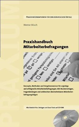 Abbildung von Bösch   Praxishandbuch Mitarbeiterbefragungen   2011   Konzepte, Methoden und Vorgehe...