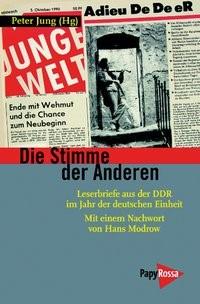 Die Stimme der Anderen | Jung, 2010 | Buch (Cover)