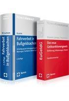 Bußgeld-Paket Verkehrsrecht: Fahrverbot in Bußgeldsachen + Das neue Geldsanktionengesetz (EuGeldG), 2010   Buch (Cover)