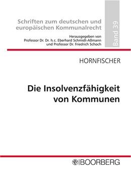 Abbildung von Hornfischer | Insolvenzfähigkeit von Kommunen | 2010 | 39