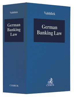 Abbildung von Vahldiek   German Banking Law   19. Auflage   2019