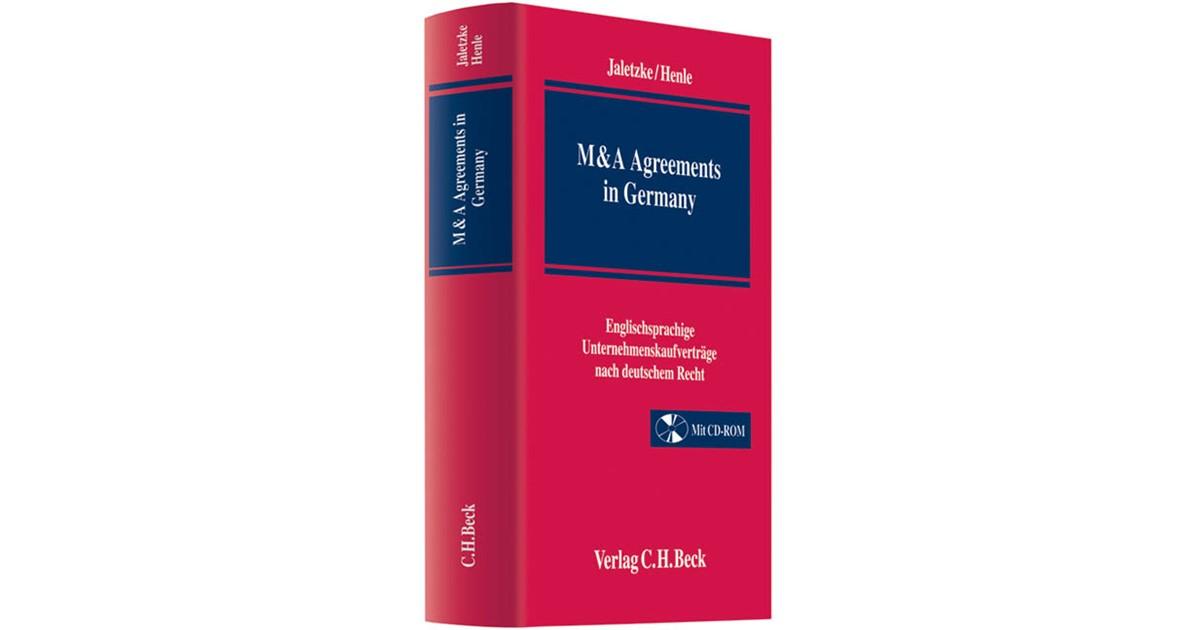 M & A Agreements in Germany | Jaletzke / Henle, 2011 | beck-shop.de