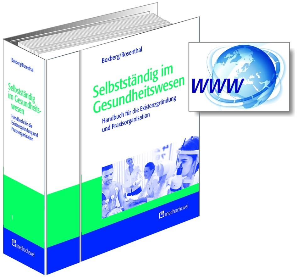 Selbstständig im Gesundheitswesen | Boxberg / Rosenthal, 2010 (Cover)