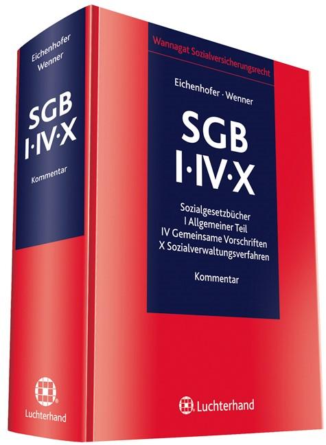 SGB I/IV/X | Eichenhofer / Wenner (Hrsg.), 2012 | Buch (Cover)