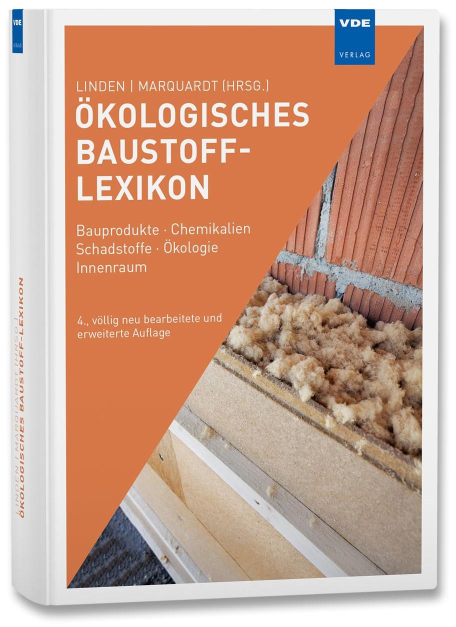 Ökologisches Baustoff-Lexikon | Linden / Marquardt | 4. Auflage, 2017 | Buch (Cover)