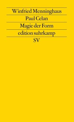 Abbildung von Menninghaus | Paul Celan | 1980 | Magie der Form | 1026
