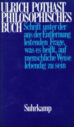 Abbildung von Pothast | Philosophisches Buch | Erstausgabe | 1988 | Schrift unter der aus der Entf...