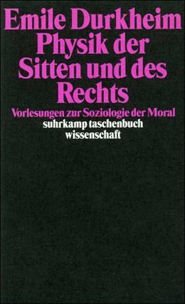 Abbildung von Durkheim / Müller   Physik der Sitten und des Rechts   1998   Vorlesungen zur Soziologie der...   1400