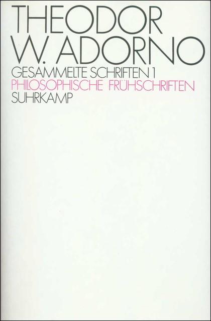 Abbildung von Adorno / Tiedemann | Gesammelte Schriften in zwanzig Bänden | 1973