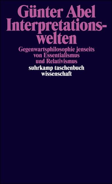 Interpretationswelten | Abel | Erstausgabe, 1995 | Buch (Cover)