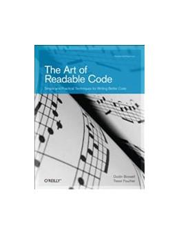 Abbildung von Dustin Boswell / Trevor Foucher   The Art of Readable Code   2011