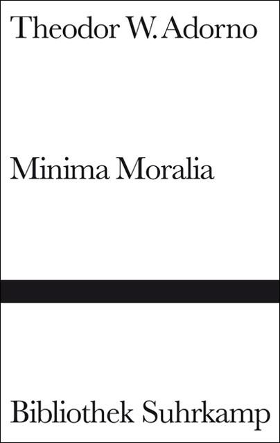 Abbildung von Adorno | Minima Moralia | 1969
